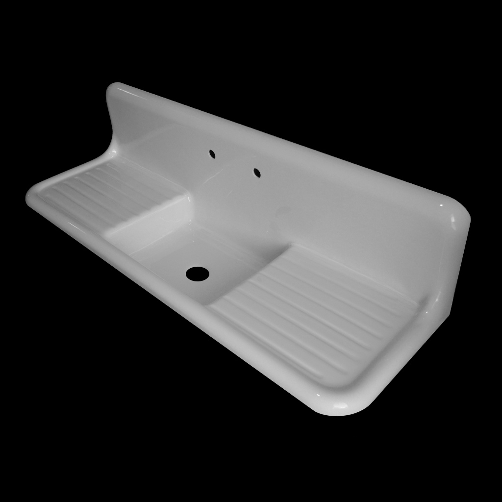 Single Bowl With Double Drainboards