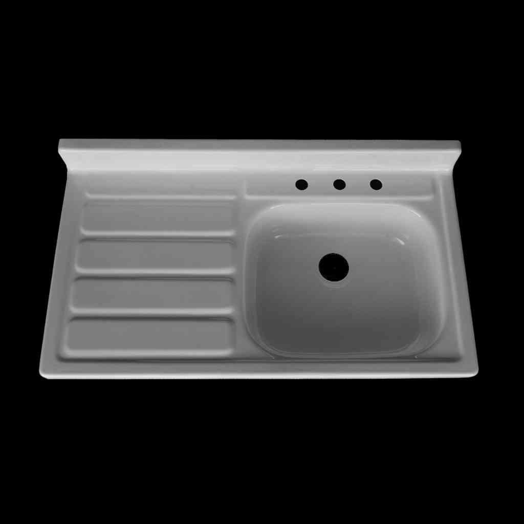 Single Bowl Left Hand Drainboard Sink Model Sbw4224 L Nbi