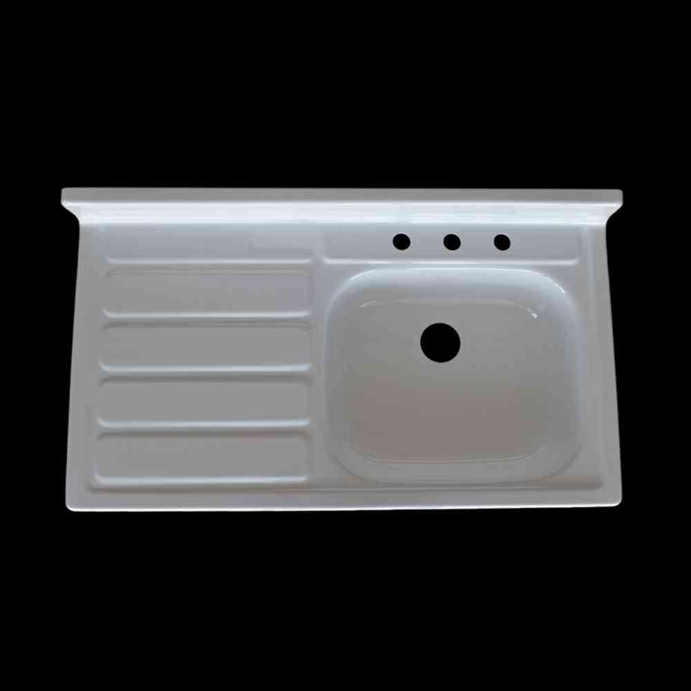 Single Bowl Left Hand Drainboard Sink - Model #SBW4224-L NBI ...