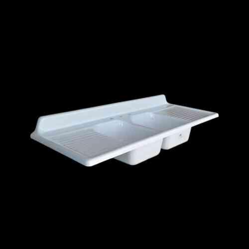 Double Bowl Double Drainboard Sink Model Dbdw6625 Nbi Drainboard