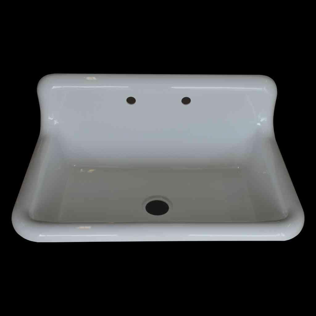High Back Kitchen Sink | Large Single Basin High Back Sink Model Sb3624